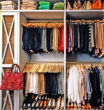 The Peak of Très Chic: Pretty Organization: Closets